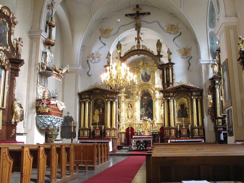 Wnętrze kościoła Zwiastowania