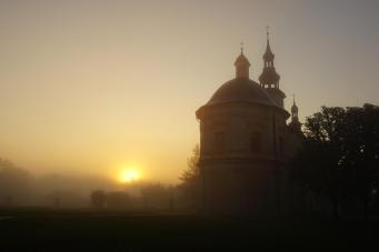 Sanktuarium o wschodzie słońca